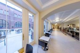 RCM Courtyard seating