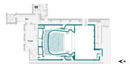 Britten Theatre Stalls RCM