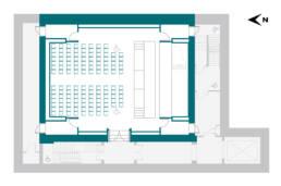 Performance Hall Theatre Style RCM